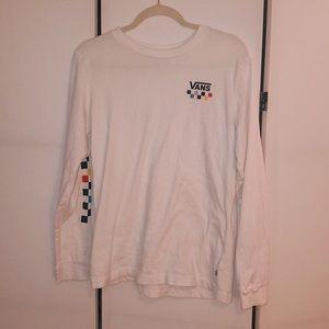 White Vans Shirt